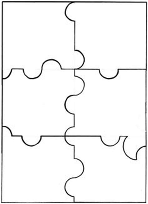 Pogknits Blank Jigsaw Puzzle Templates Books Worth 6 Jigsaw Puzzle Template