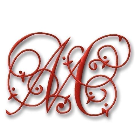 Home Decor Initials Letters by Embroidery Monogram Downloads Embroidery Designs