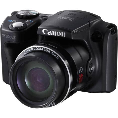 canon photo canon powershot sx500 is digital 6353b001 b h photo