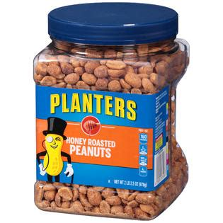 planters honey roasted peanuts food grocery snacks