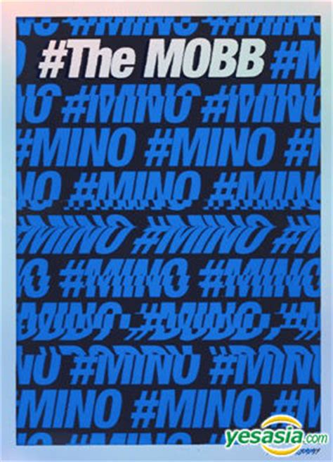 The Mobb Mino Version Poster yesasia mobb debut mini album the mobb mino ver poster in 镭射唱片 mobb 韩语音乐 邮费全免
