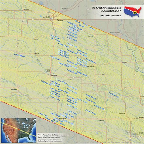 Nebraska Search Eclipse Map Nebraska Images Search