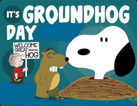 groundhog day vs happy day its groundhogs day pictures photos and images for