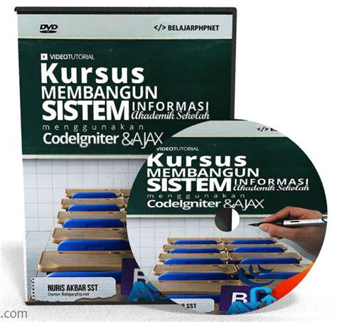 tutorial codeigniter sistem informasi akademik part 4 membangun sistem informasi akademik sekolah dengan