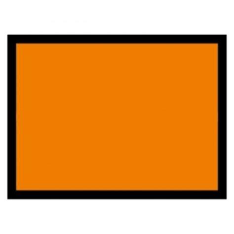 Auto Orangener Aufkleber by Un Gefahrentafel Blanko Orange Aufkleber Shop