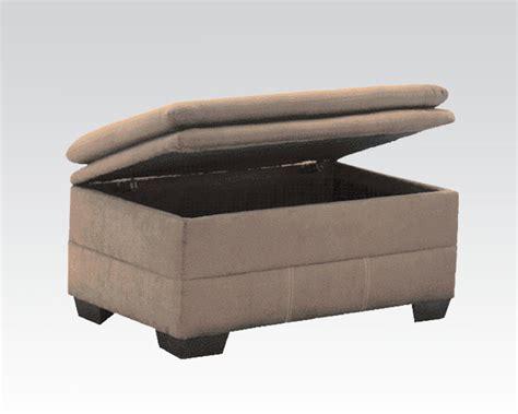 furniture storage ottoman acme furniture storage ottoman lucille sage ac50373