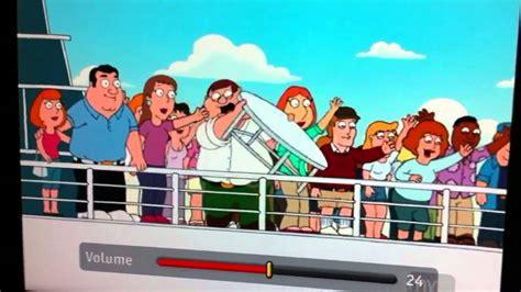peter griffin boat bye bye bye youtube