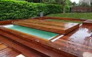 terrasse mobile pour piscine pool fond mobile