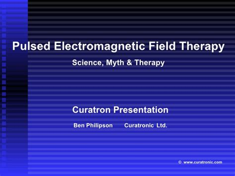 power tools for health how pulsed magnetic fields pemfs help you books presentation curatron pemft devices