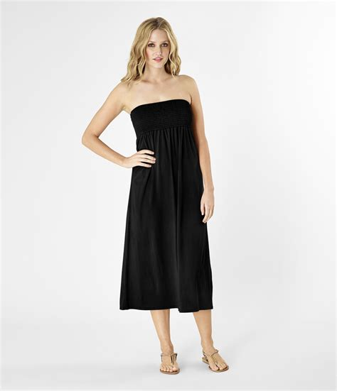 michael convertible maxi skirt and dress in black lyst