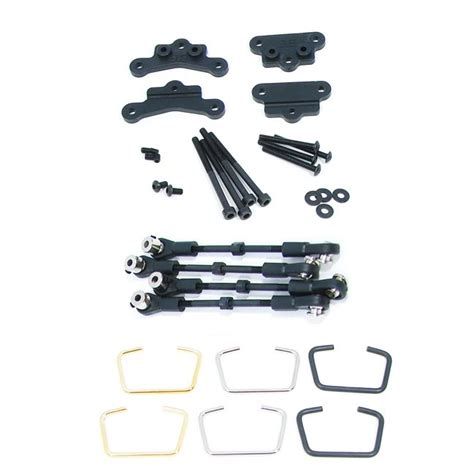 Tekno Rc Sway Bar Kit Revo Tkr1013 tekno sway bar kit linkage kit for traxxas revo r c