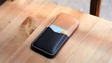 Scratch Card Holder Template by Iphone 6 Leather Sleeve Build Along Tutorial Makesupply