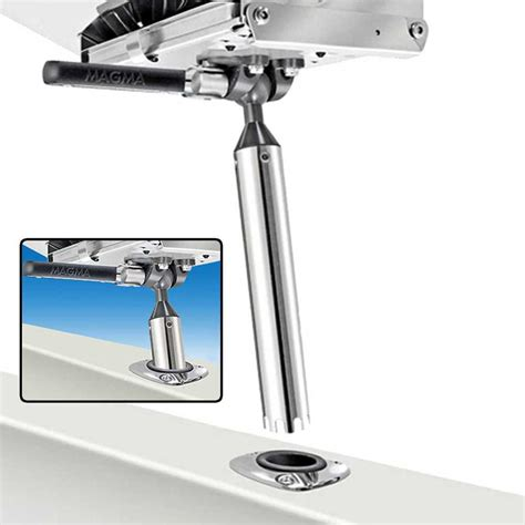 magma t10 355 fish rod holder mount for marine gourmet - Magma Boat Grill Rod Holder Mount