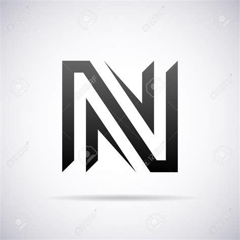 letter template design vector cool letter n designs letters