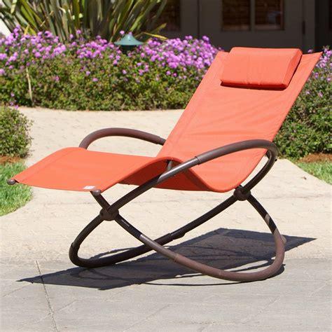 shop rst brands folding steel  gravity swivel rocker patio chair  sling seat  lowescom