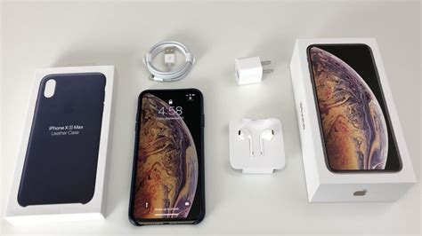 iphone xs max unboxing gold iphone 10s max