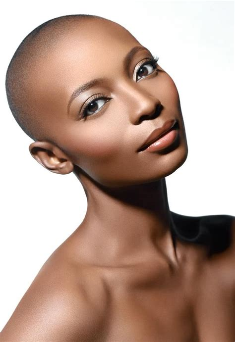 beautiful black bald women with leak 273 best bald beautiful women images on pinterest