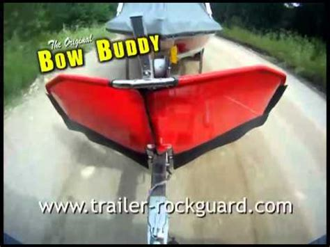 bow buddy boat canvas man the original bow buddy youtube