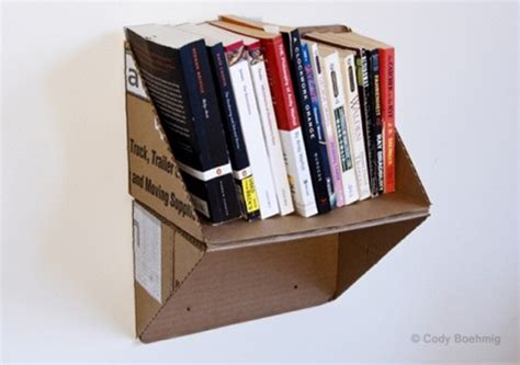 diy cardboard crafts 37 diy bookshelf ideas unique and creative ideas