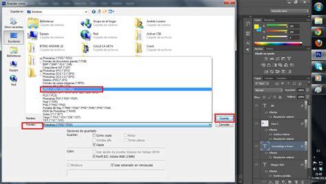 guardar imagenes word jpg como exportar un dise 241 o en photoshop a imagen jpg png