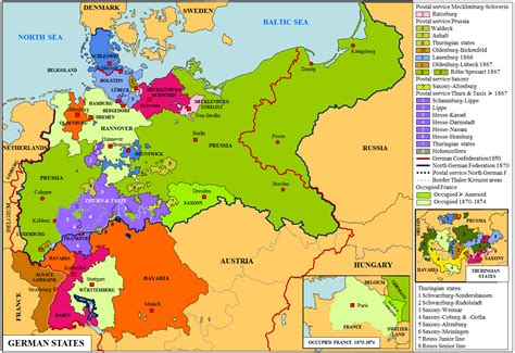 germany state map german states map stworldhistory