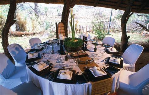 African wedding reception in the Safari, Chic!   Devine