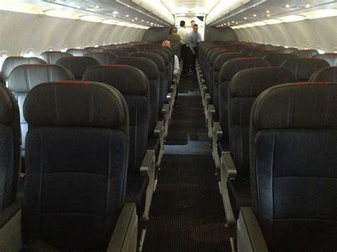 Aa Cabin by A Sneak Peek Inside The New American Airlines Airbus A319