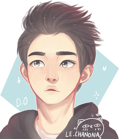 exo anime exo do by sweet nona on deviantart