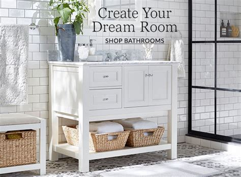 Pottery Barn Bathroom Ideas by Bathroom Design Ideas Inspiration Pottery Barn