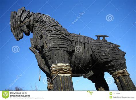 home paard van troje paard van troje stock afbeeldingen afbeelding 18277944