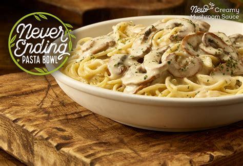 9 99 never ending pasta bowl at olive garden