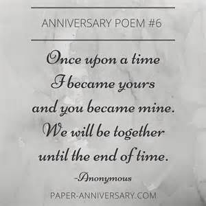 poems for 1st wedding anniversary 25 best ideas about anniversary poems for him on