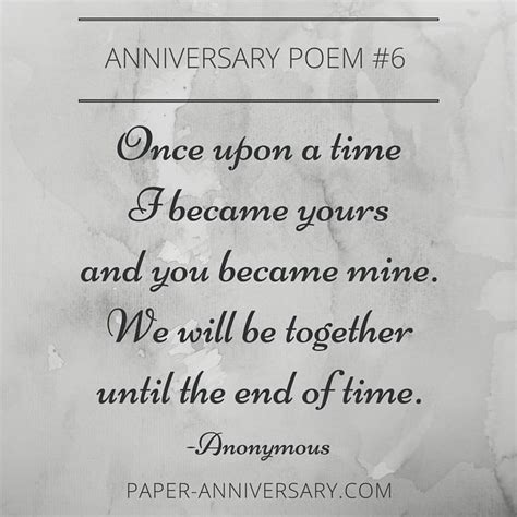 Wedding Anniversary Quotes N by 17 Best Ideas About Anniversary Poems On
