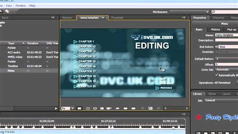 Adobe Encore Cs5 Tutorial using the chapter index in adobe encore cs5 to make menus