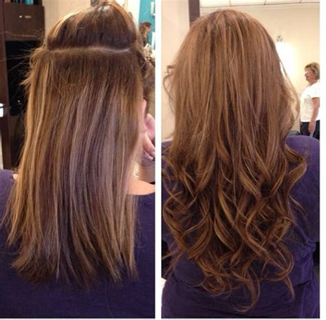 hairstyles with fusion hair extensions 14 best images about hair extensions before and after on