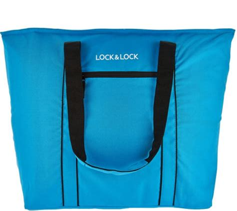 Cooler Bag K lock lock large insulated cooler bag k43917 qvc
