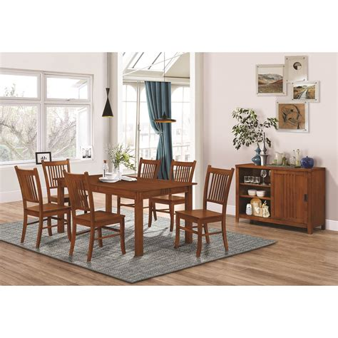 dining room groups coaster marbrisa casual dining room group miskelly