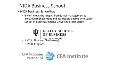 Nida Mba Program by Doing Business In Thailand