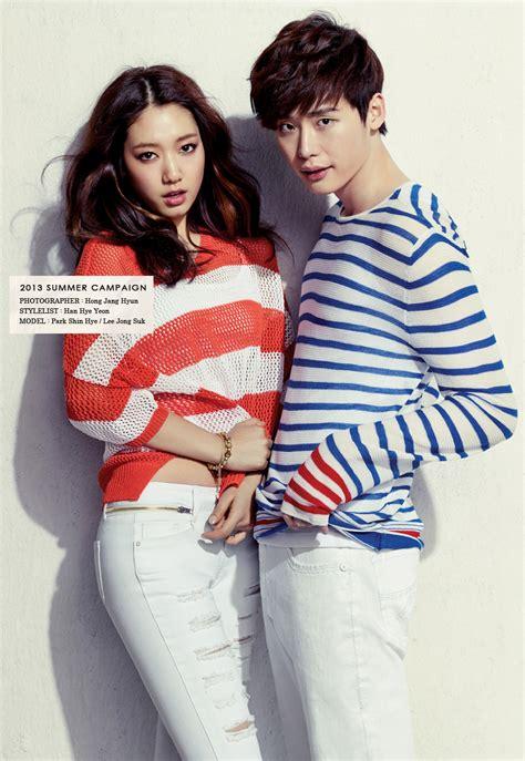 drama lee jong suk and park shin hye park shin hye and lee jong suk coffee and irony