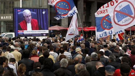 Mba In Serbia by Croatia And Serbia Protest Days The Economist