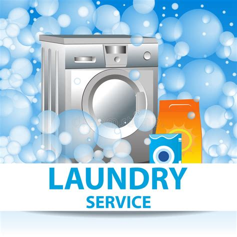 laundry design poster laundry service poster template for house cleaning