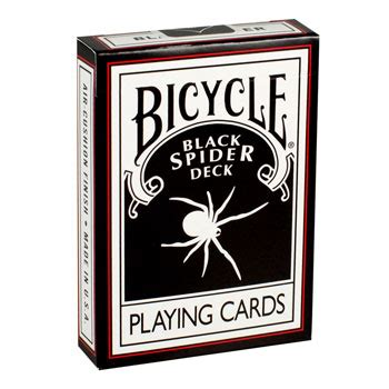 Bicycle Syzygy Bonus Deck spider black deck bicycle cards with bonus fast shipping magictricks