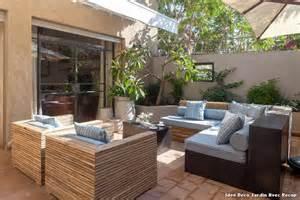 idee deco jardin avec recup with contemporain terrasse et