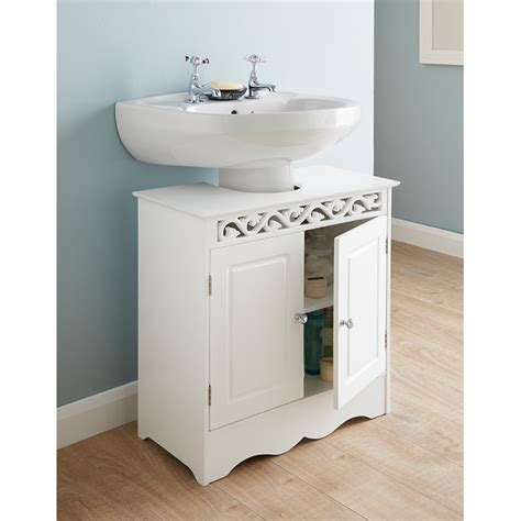 under sink unit bathroom luxury floral under sink basin storage unit bathroom white