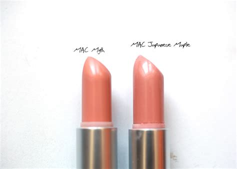 Chanel Lipstick Vs Mac chanel aventure chanel superstition mac myth mac japanense maple