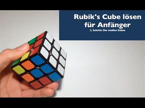 3x3x3 rubik s tutorial 3x3x3 rubik s cube l 246 sen f 252 r anf 228 nger 2 die wei 223 en