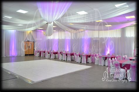 Wedding Event Wall Drape Hire London, Hertfordshire, Essex