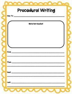 written procedures template written procedures template outletsonline info