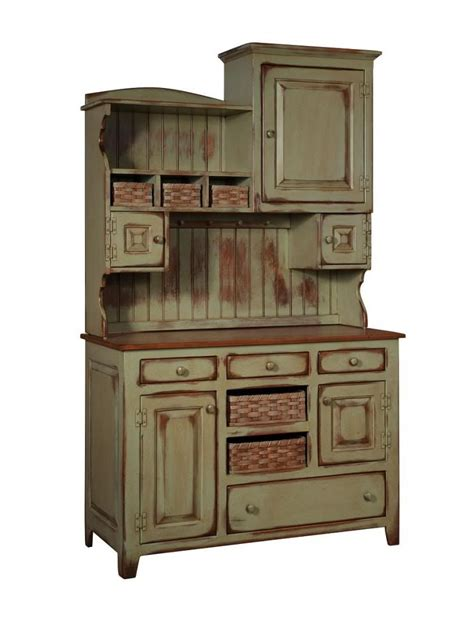 amish kitchen furniture primitive farmhouse kitchen hutch pantry cupboard