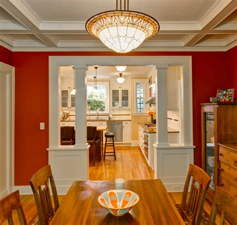 colonial heights craftsman craftsman dining room